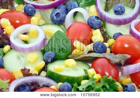 Mixed Salad Closeup
