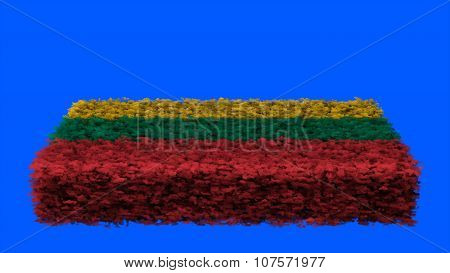 Flag of Lithuania, Lithuanian Flag made from clouds