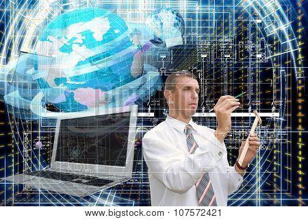 Generation Communications Engineering Technology.working Engineer