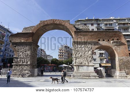 Thessaloniki Greece Galerius