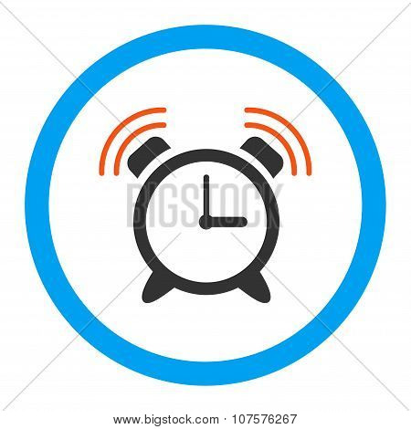 Alarm Clock Ring Rounded Vector Icon