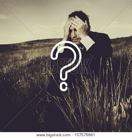 Question Mark Asking Confusion Thought Help FAQ Concept