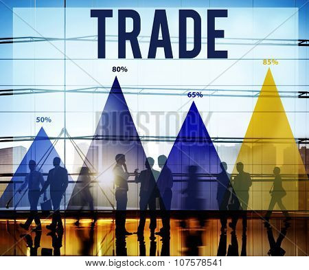 Trade Commerce Economy Merchandise Market Concept