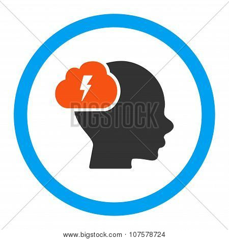 Brainstorm Rounded Vector Icon