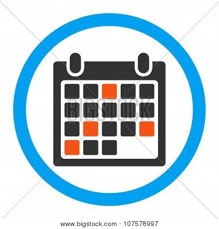 Calendar Appointment Rounded Vector Icon