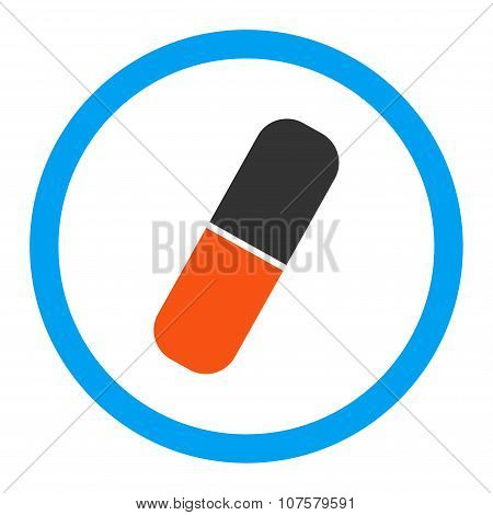 Capsule Rounded Vector Icon
