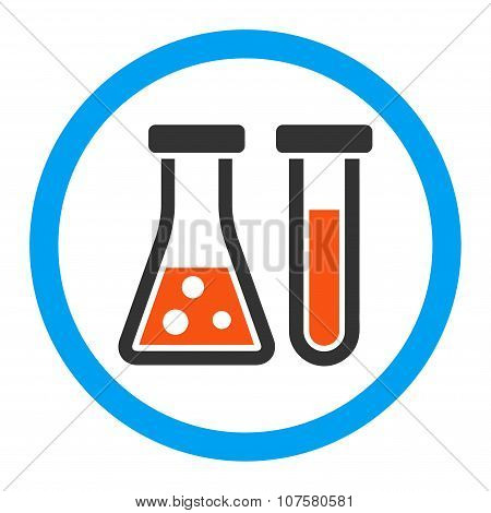 Chemistry Rounded Vector Icon
