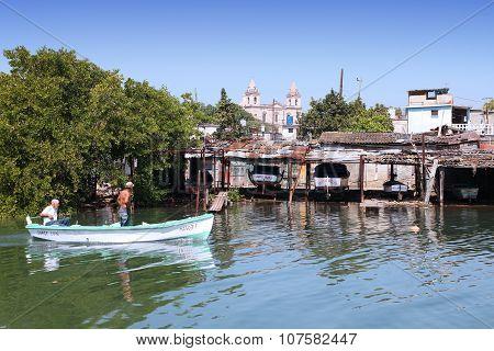 Fishermen In Cuba