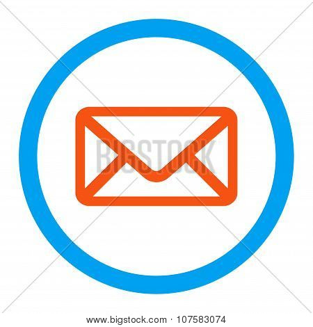 Envelope Rounded Vector Icon