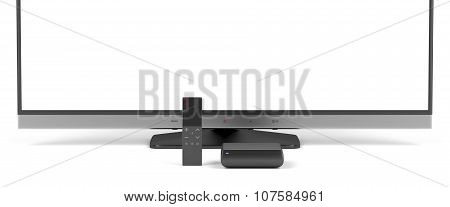 Tv, Media Player And Remote Control