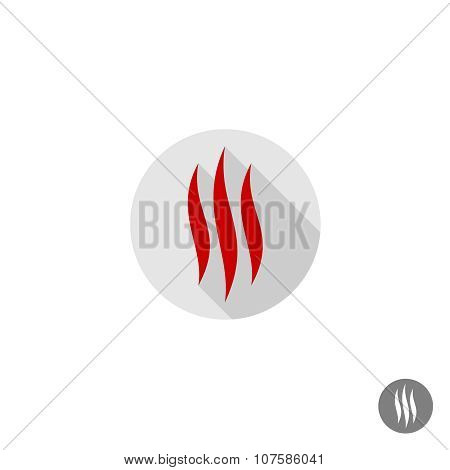Fire Flames Sign