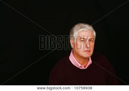 Serious Old Man