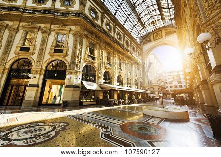 In The Heart Of Milan, Italy