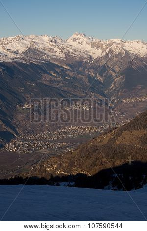 Valais from above