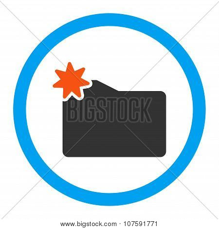 New Folder Rounded Vector Icon
