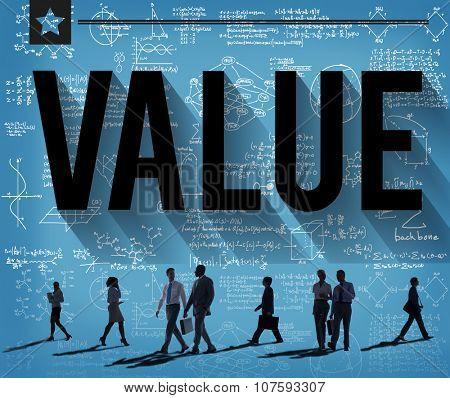 Values Respect Money Economy Finance Concept