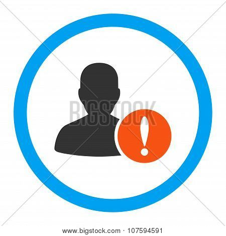 Patient Problem Rounded Vector Icon