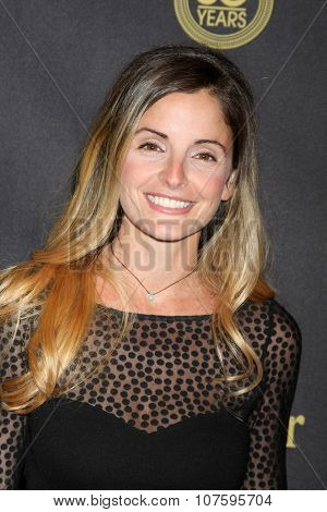 LOS ANGELES - NOV 7:  Alexis Thorpe at the Days of Our Lives 50th Anniversary Party at the Hollywood Palladium on November 7, 2015 in Los Angeles, CA