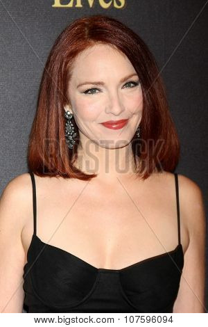 LOS ANGELES - NOV 7:  Amy Yasbeck at the Days of Our Lives 50th Anniversary Party at the Hollywood Palladium on November 7, 2015 in Los Angeles, CA