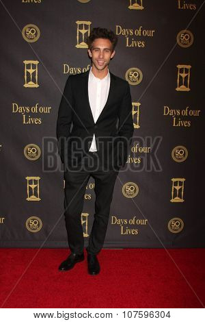 LOS ANGELES - NOV 7:  Blake Berris at the Days of Our Lives 50th Anniversary Party at the Hollywood Palladium on November 7, 2015 in Los Angeles, CA