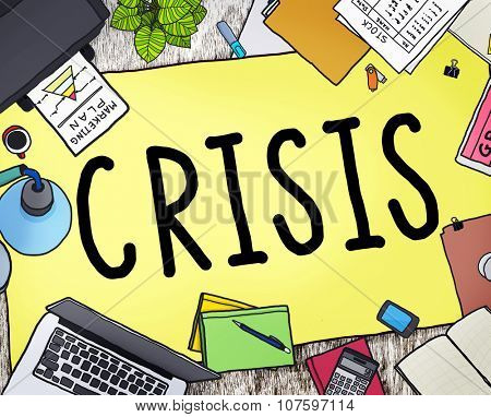 Crisis Accounting Banking Failure Financial Concept