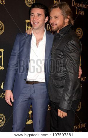 LOS ANGELES - NOV 7:  Billy Flynn, Stephen Nichols at the Days of Our Lives 50th Anniversary Party at the Hollywood Palladium on November 7, 2015 in Los Angeles, CA