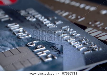 Credit Cards In The Small Depth Of Sharpness