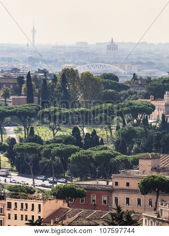 ROME, ITALY - OCTOBER 25