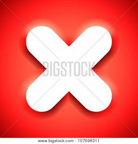 Cross Mark Symbol