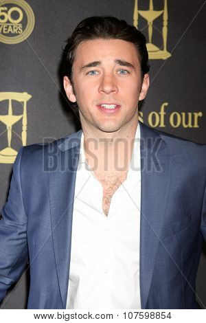 LOS ANGELES - NOV 7:  Billy Flynn at the Days of Our Lives 50th Anniversary Party at the Hollywood Palladium on November 7, 2015 in Los Angeles, CA