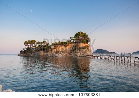 Cameo Island At Sunset, Zakynhtos, Greece