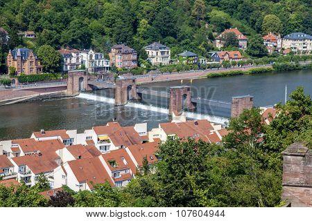 View over Heidelberg, Panorama