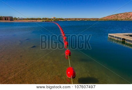 Desert Swimming Lake
