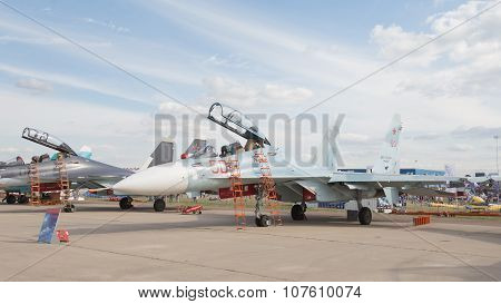 The Su-30 In Zhukovsky