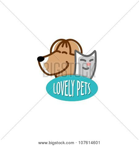 Pets Shop Logo Template