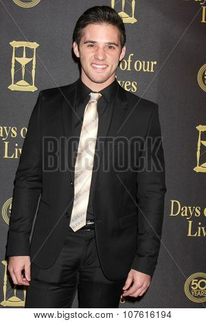LOS ANGELES - NOV 7:  Casey Moss at the Days of Our Lives 50th Anniversary Party at the Hollywood Palladium on November 7, 2015 in Los Angeles, CA