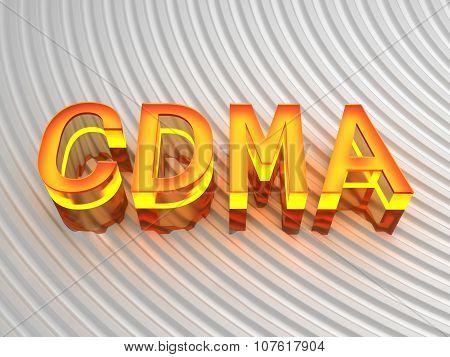 CDMA - Code division multiple access