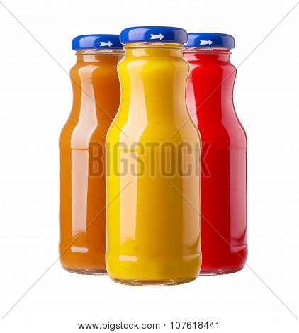 Bottles Of Juice