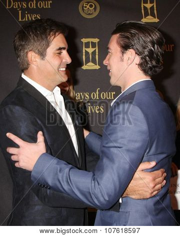 LOS ANGELES - NOV 7:  Galen Gering, Billy Flynn at the Days of Our Lives 50th Anniversary Party at the Hollywood Palladium on November 7, 2015 in Los Angeles, CA