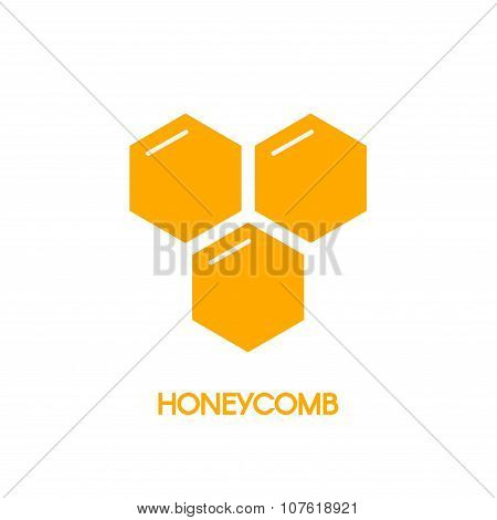 Honeycomb logo for company business.