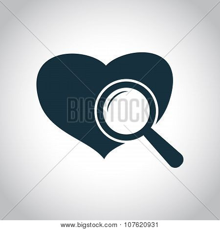 Heart checkup icon