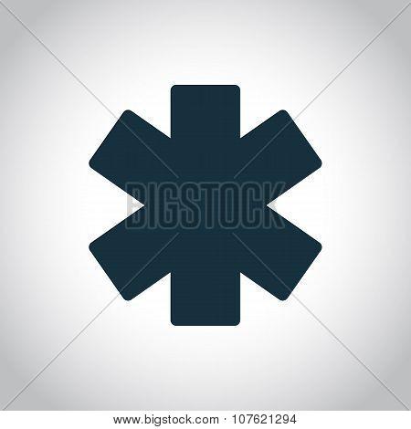 Emergency star icon