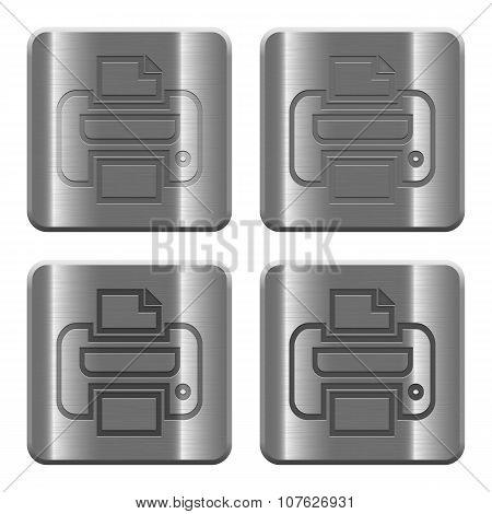 Metal Print Buttons