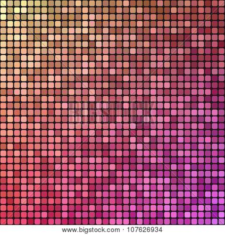 Colorful pixel mosaic design background