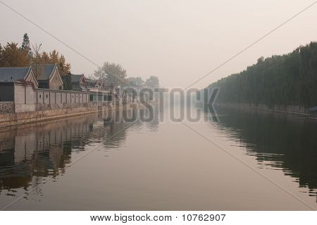The Golden River in the Fog