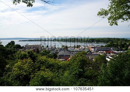 View of Harbor Springs and Harbor Point