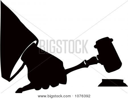Auction Hammer Gavel