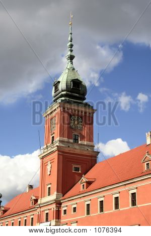The Clocktower Of The Royal Palac