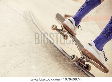 Skater Close Up