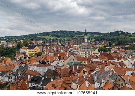View Of Cesky Krumlov, Czech Republic